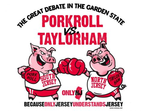 Pork Roll vs. Taylor Ham